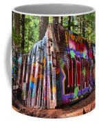 Colorful Box Car In The Forest Coffee Mug