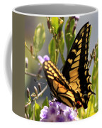 Colorful Butterfly Square Coffee Mug