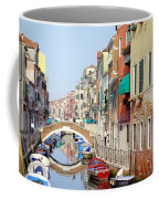Colorful Canal Coffee Mug