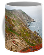 Colorful Cliffs At Point Reyes Coffee Mug