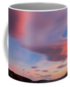 Colorful Clouds Over Wicklow Mountains Coffee Mug by Semmick Photo