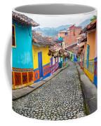 Colorful Cobblestone Street Coffee Mug
