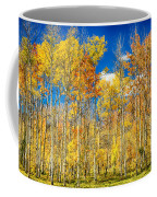 Colorful Colorado Autumn Aspen Trees Coffee Mug