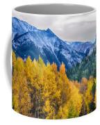 Colorful Crested Butte Colorado Coffee Mug