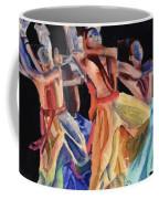 Colorful Dancers Coffee Mug