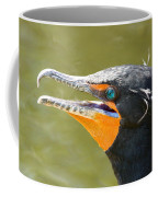 Colorful Double-crested Cormorant Coffee Mug