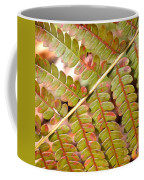 Colorful Fern Square Coffee Mug