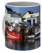 Colorful Fishing Boats Coffee Mug