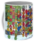Colorful Fishing Floats Coffee Mug