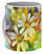 Colorful Floral Abstract I Coffee Mug