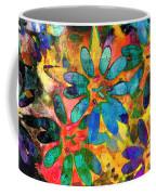 Colorful Floral Abstract IIi Coffee Mug
