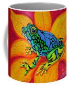 Colorful Frog Coffee Mug