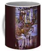 Colorful Giraffes Carrousel Coffee Mug
