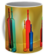 Colorful Glass Bottles Coffee Mug