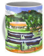 Colorful Green Fort Davidson Coffee Mug by Kip DeVore