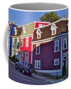 Colorful Homes In Saint John's-nl Coffee Mug