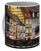 Colorful Homes Of La Petite Venise In Colmar France Coffee Mug