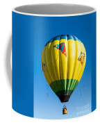 Colorful Hot Air Balloon Over Vermont Coffee Mug