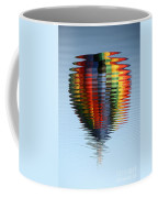 Colorful Hot Air Balloon Ripples Coffee Mug