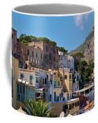 Colorful Houses In Capri Coffee Mug