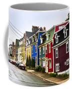 Colorful Houses In Newfoundland Coffee Mug