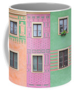 Colorful Houses Coffee Mug