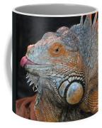 colorful Iguana Coffee Mug