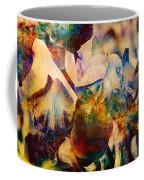 Colorful Iris Watercolor Coffee Mug