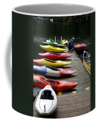 Colorful Kayaks At Whistler Bc Coffee Mug