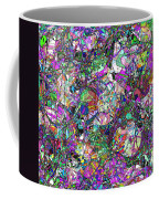 Colorful Lines Abstract Coffee Mug