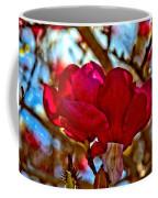 Colorful Magnolia Blossom Coffee Mug