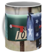 Colorful Mailboxes Coffee Mug