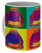 Colorful Mercedes Benz 300 Sl Convertible Popart Coffee Mug