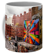 Colorful Mural Chelsea New York City Coffee Mug