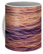 Colorful Ocean Water At Sunset Coffee Mug