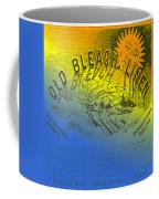 Colorful Old Bleach Linen Ad Coffee Mug