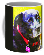 Colorful Old Dog Coffee Mug