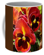Colorful Pansies Coffee Mug
