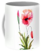 Colorful Poppy Flowers Coffee Mug