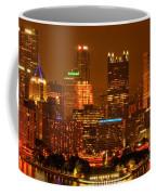 Colorful Summer Night In Pittsburgh Coffee Mug