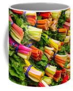 Colorful Swiss Chard Coffee Mug