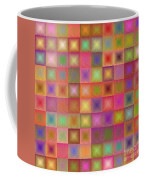 Colorful Textured Squares Coffee Mug