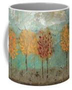 Colorful Trees Coffee Mug