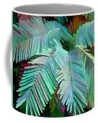 Colorful Tropical Leaves In The Jungle Coffee Mug