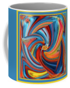 Colorful Waves Coffee Mug