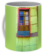 Colorful Window Coffee Mug