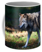 Colorful Wolf Coffee Mug
