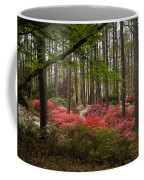 Colorful Woodland Azalea Garden Coffee Mug