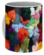 Colorful Yarn Otavalo Market Ecuador Coffee Mug