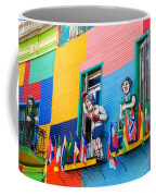 Colors And Statues Coffee Mug